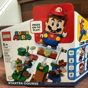 Lego Super Mario Set Brand New